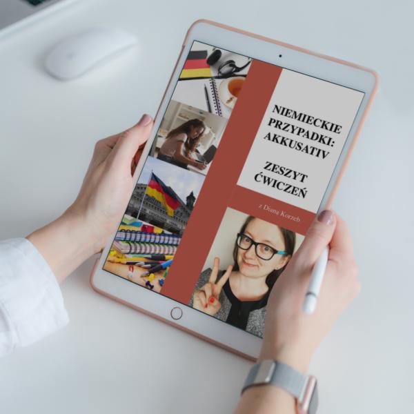 """E-BOOK """"NIEMIECKIE PRZYPADKI: AKKUSATIV – ĆWICZENIA"""" 1"""